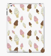 Neapolitan Ice Cream Cones iPad Case/Skin