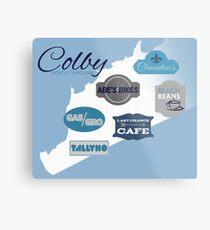 Visit Colby Metal Print