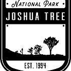 Joshua Tree National Park California Badge by nationalparks
