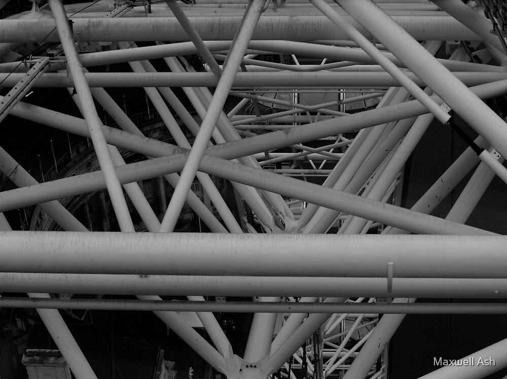 London Eye by Maxwell Ash