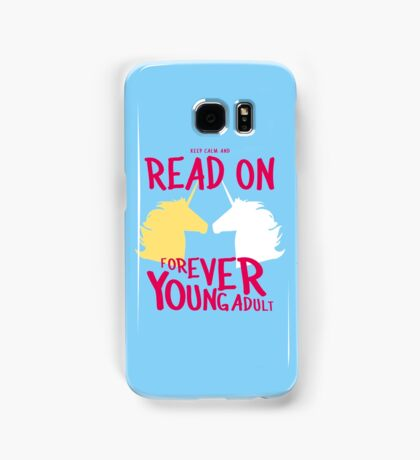 Keep Calm and Read On, FYA Samsung Galaxy Case/Skin