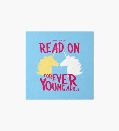 Keep Calm and Read On, FYA Art Board