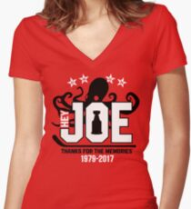 Hey Joe, Thank You! Women's Fitted V-Neck T-Shirt