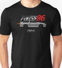 AE86 Trueno Hatch GRY T-Shirt