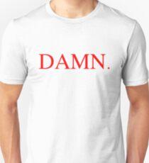 DAMN.red colour. Unisex T-Shirt