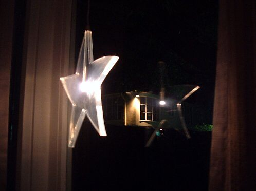 Star reflection by Donna Steele