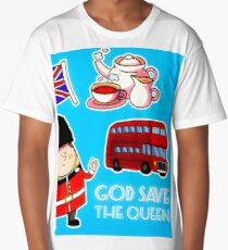 God save The Queen Long T-Shirt