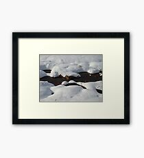 Winter scene #2 Framed Print