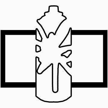 Single Splattered Can ...  by AWSDesign