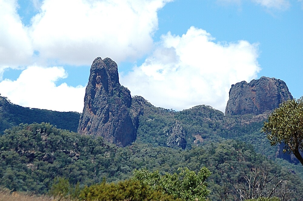Ancient Times,Warrumbungle Ranges ,Warrumbungles National Park  NSW Australia by Philip Johnson