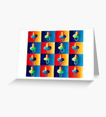 Baby Soothers Greeting Card