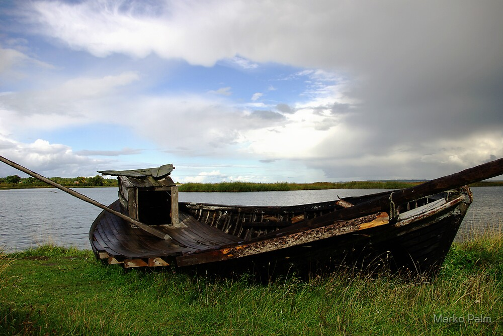 Old Fishing Boat... by Marko Palm