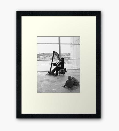 art appreciation Framed Print