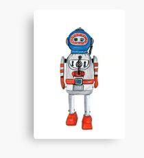 Retro Tin Robot No. 3 Canvas Print