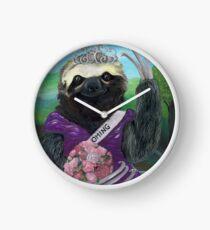 Gretta Slothenstien the Homecoming Queen Clock