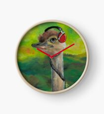 Sweet Pam the Jam Ostrich Clock