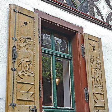A Rudesheim Window by grmahyde