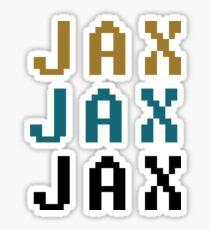 Jacksonville x3 Sticker