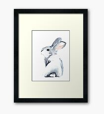 Moon Rabbit I Framed Print