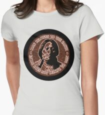 COPPER CHIEF SITTING BULL  #standwithstandingrock Womens Fitted T-Shirt