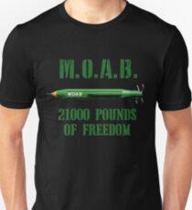 MOAB 21000 Pounds Of Freedom Unisex T-Shirt