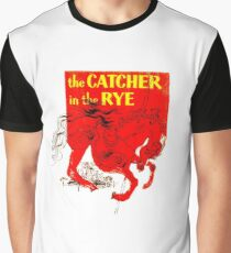 Holden Caulfield: The Catcher in the Rye Graphic T-Shirt
