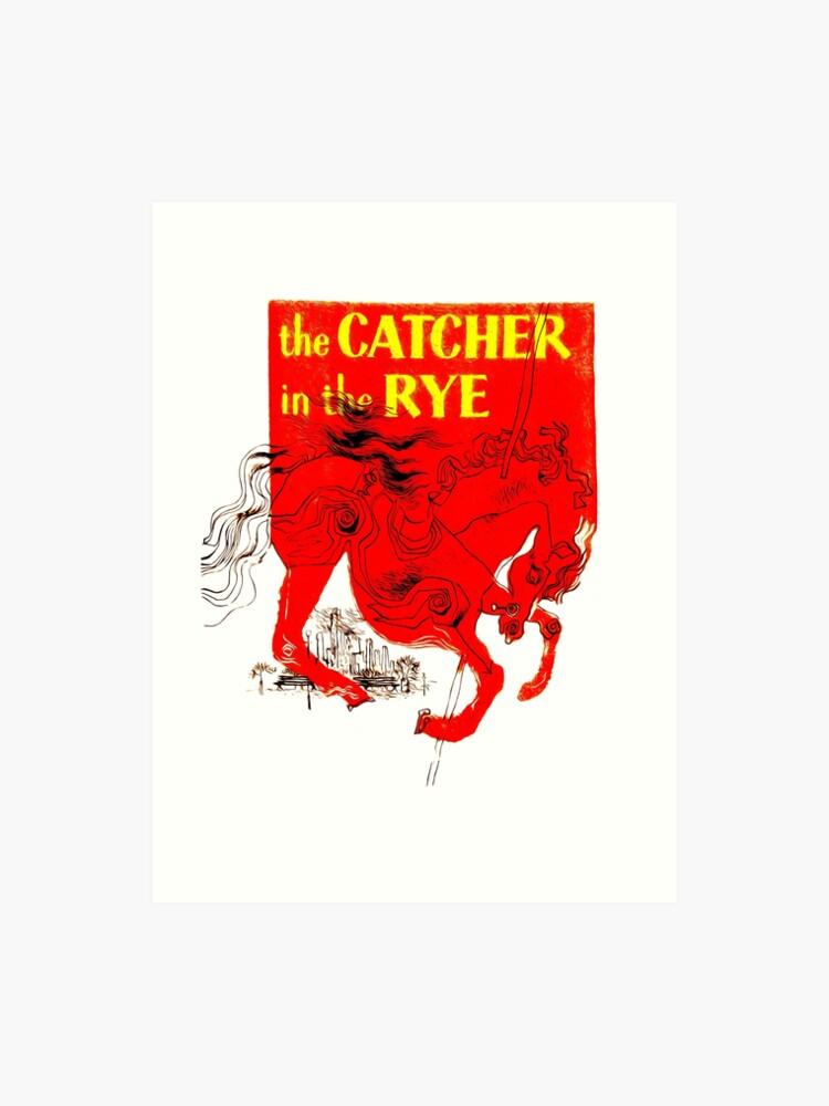 Holden Caulfield The Catcher In The Rye Art Print