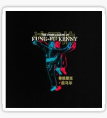 Kung Fu Kenny Now Sticker