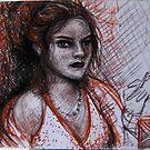 Smoking Girl by vixenvision