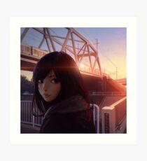 Ichigao Art Print