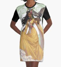 9 of Pentacle Graphic T-Shirt Dress