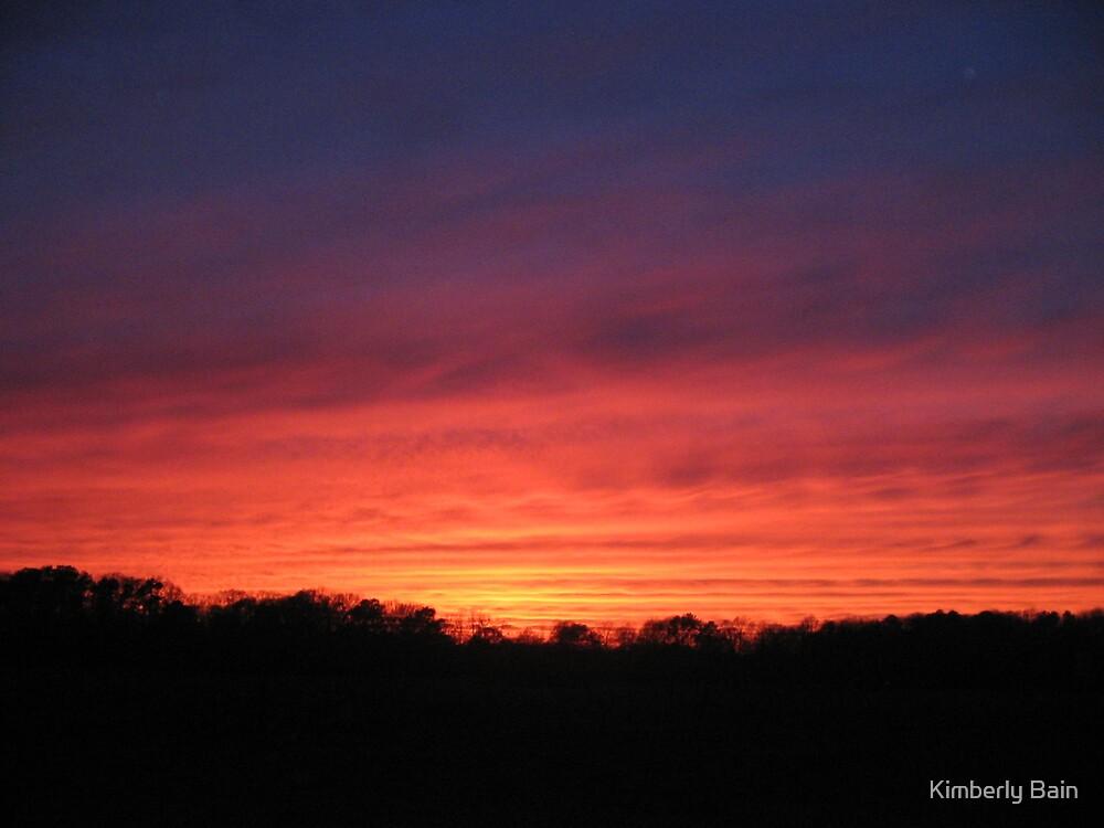 2006 Super Bowl Sunset by Kimberly Bain