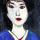 Portrait Of A Geisha by RobynLee