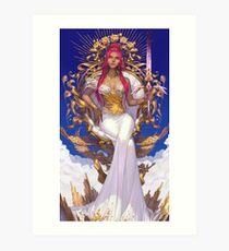 King of Swords Art Print