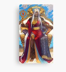 King of Wands Metal Print