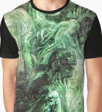 Green Healing Light Graphic T-Shirt