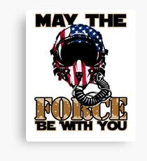 May the Air Force be With You! Canvas Print