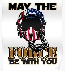 May the Air Force be With You! Poster