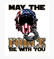 May the Air Force be With You! Photographic Print