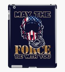 May the Air Force be With You! iPad Case/Skin