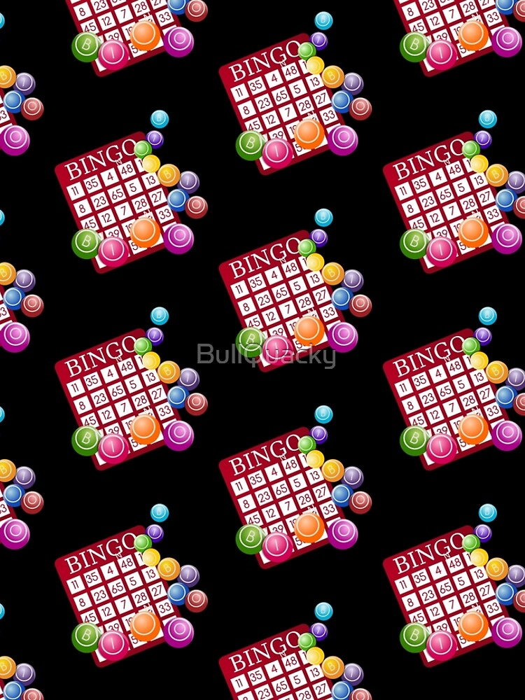 Bingo Balls - Bingo Player Gift  by BullQuacky