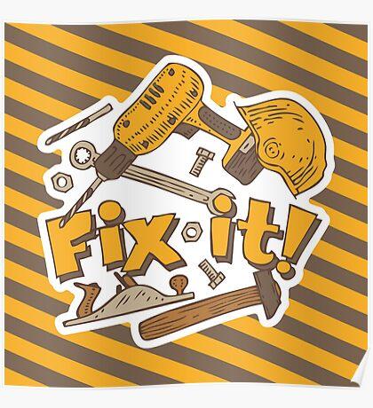 Fix it! Again! Poster