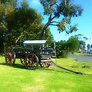 *Old Wagon (circa 1930's) on Foreshore at Port Fairy, Vic. Australia by EdsMum
