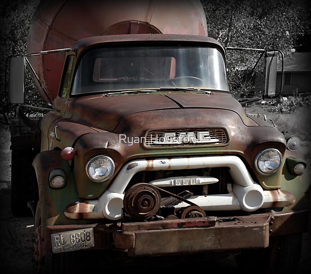 GMC Vintage Cement Truck, Springdale, Utah  by Ryan Houston