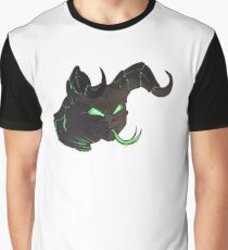 Glowing Deathclaw Bust 2 Graphic T-Shirt