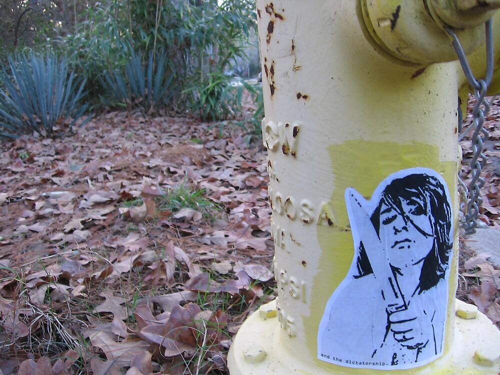 fire hydrant by HBKristen