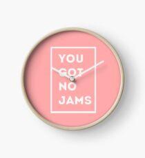 BTS/Bangtan Sonyeondan - You Got No Jams (Pink) Clock