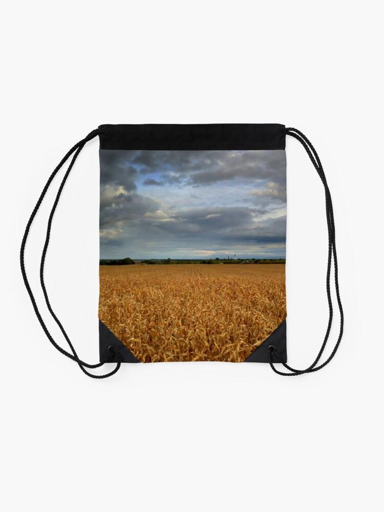 Alternate view of Rural landscape Drawstring Bag