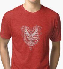 Ribcage Heart Tri-blend T-Shirt