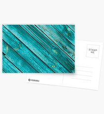 Diagonal background with blue colored Postcards